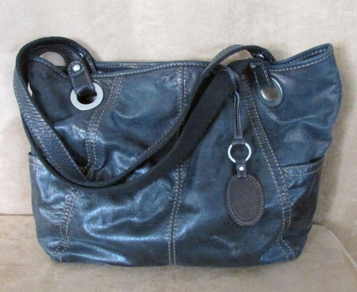 PRADA Black leather purse Handbag lock key bag satchel doctor ...