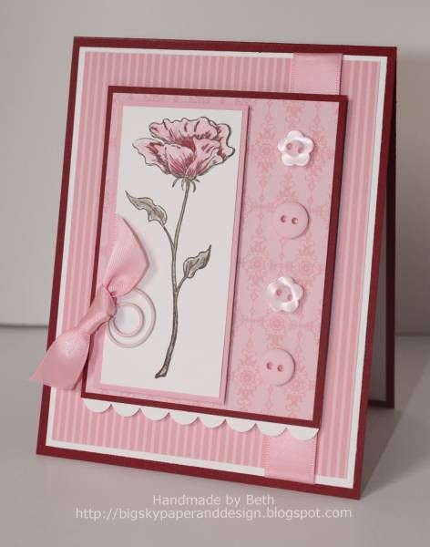 CC284, SSSC81, Bloomin' Pink Beauty... by bigsky - Cards and Paper Crafts at Splitcoaststampers