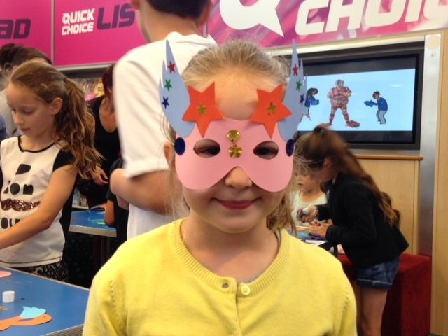 Bishops Cleeve Library Super Hero event