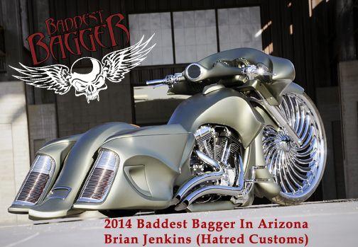 Hatred Customs Bagger | baddest bagger in minnesota winners 2014 baddest bagger arizona ...