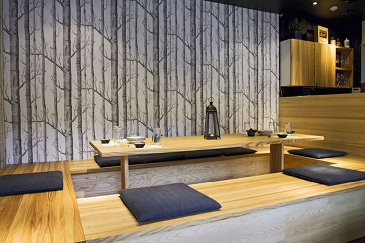 Restaurante Japonês: Modelos de mesas