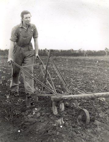 Australian Women's Land Army.