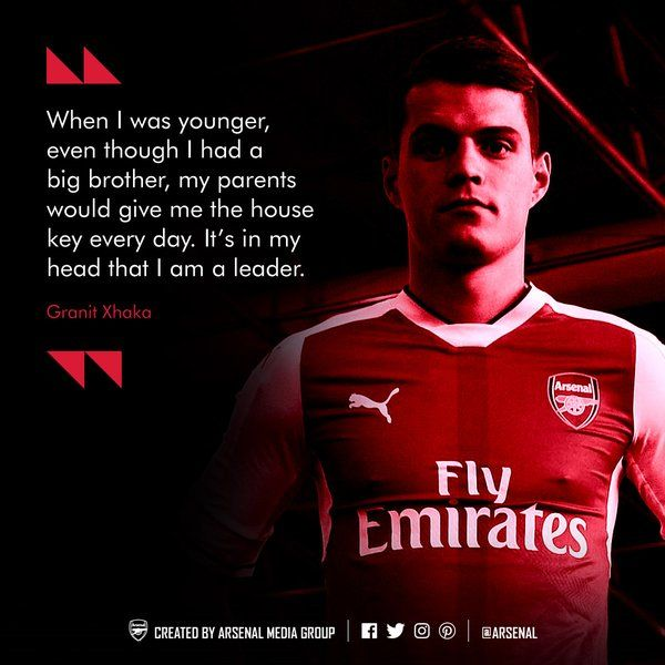 Media Tweets by Arsenal FC (@Arsenal) | Twitter #granit #xhaka #afc