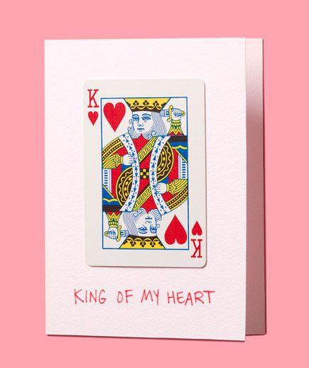 tarjeta de San Valentín original  con naipes #valentines #gifts #cards #tarjetas #amor #love #regalos #sanvalentin #couple #crafts #manualidades #diy #ideas