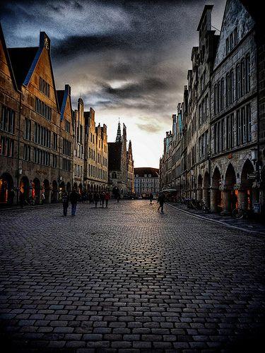 Münster - Prinzipalmarkt. Das Herz der Stadt