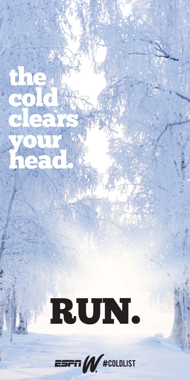 The only cure for a headache this winter. #ColdList