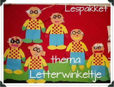 thema letterwinkeltje - Lespakket