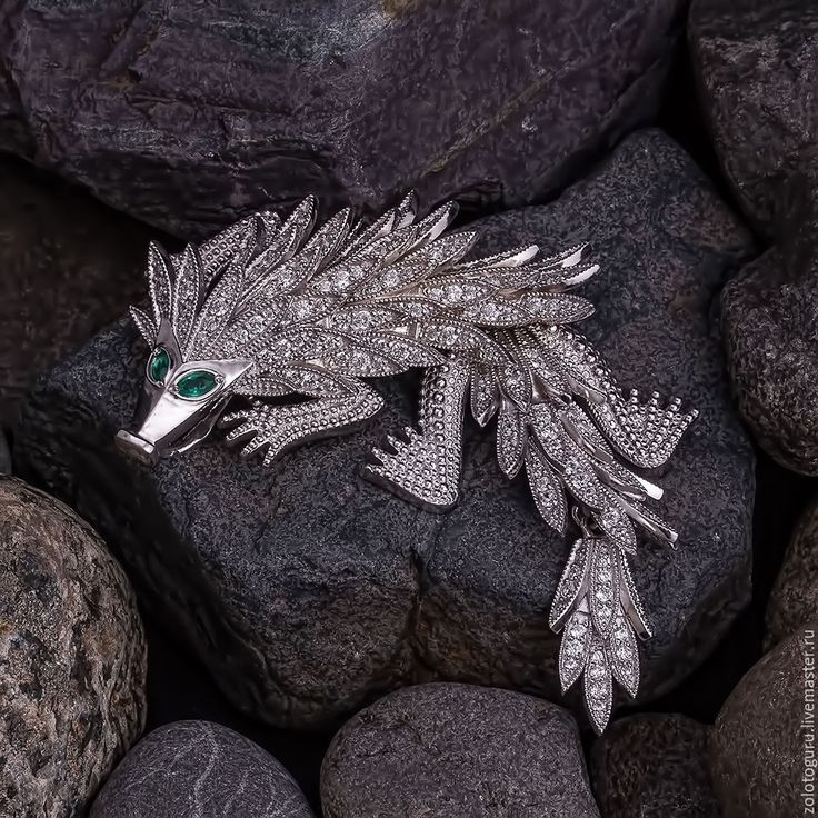 Купить Брошь Китайский дракон - китайский дракон, дракон, брошь дракон, брошь для девушки