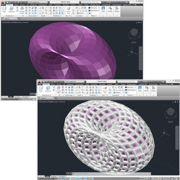 Using the 3DConstruct utility to process 3D meshes in AutoCAD. See http://www.cadstudio.cz/freeware