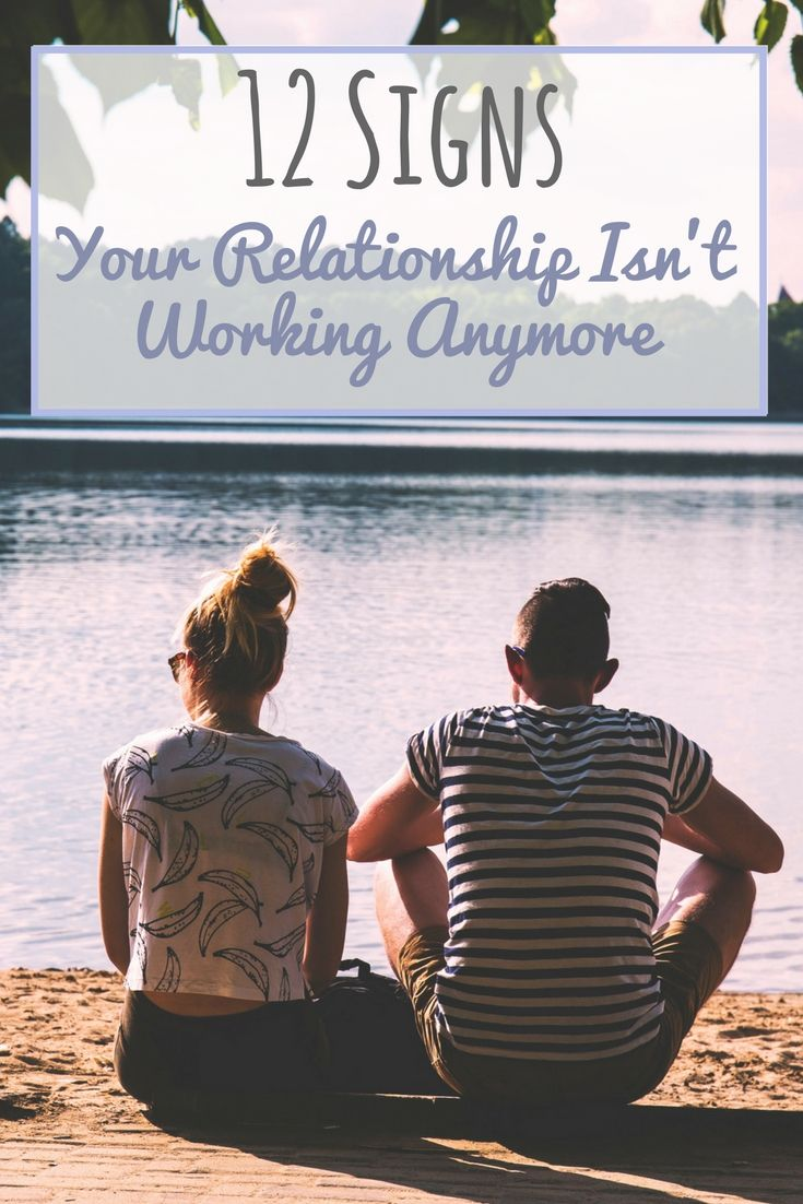 Relationship advice for anyone questioning if things are still working.
