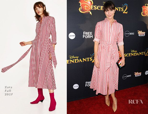 Katie Aselton In Zara – 'Descendants 2' LA Premiere