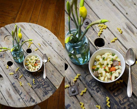 Nudelsuppe, noodlesoup, noodles, Soup  www.frlweiss.wordpress.com