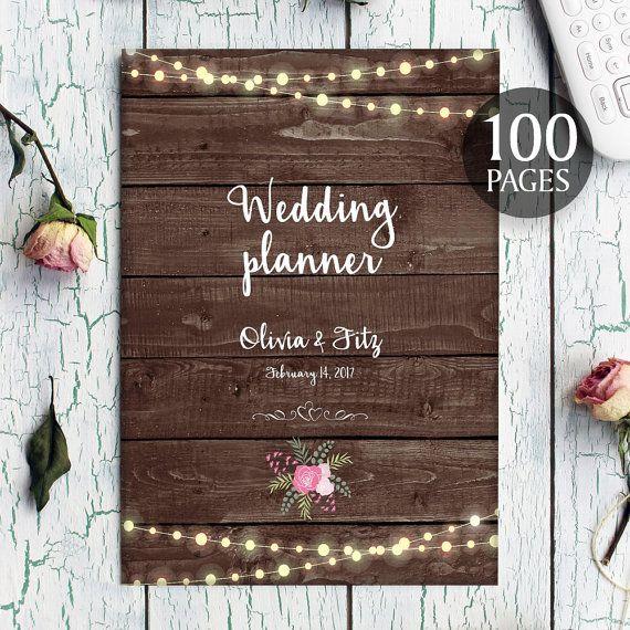 Printable Wedding Planner, Instant Download Wedding