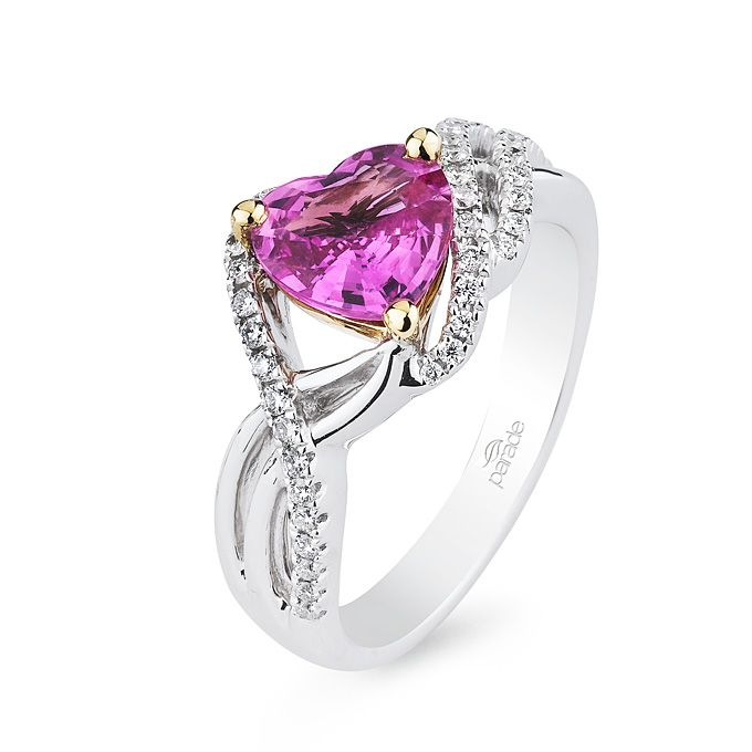 The 25 best Heart shaped engagement rings ideas on Pinterest
