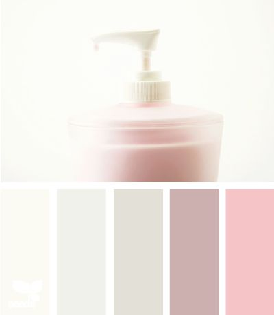 pink tints - so muted and soothing and soft....