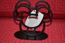 Details about Disney MICKEY MOUSE icon durable heavy metal napkin holder black RARE