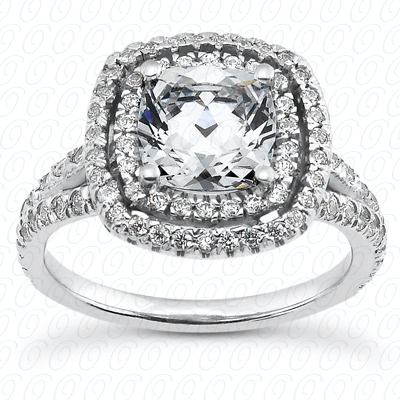 Out This Beautiful Engagement Ring That Can Hold a Round, Princess Cut ...