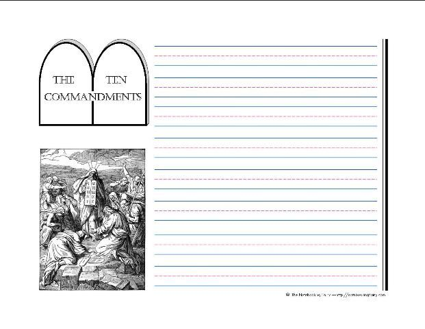 the ten commandments essay Unlike hammurabi's code the ten commandments list guidelines on worship  and holy days and offers worship as a  we will write a custom essay sample on.