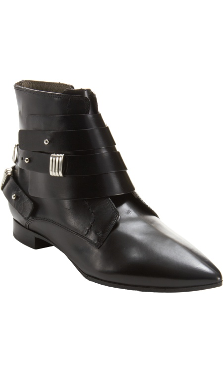 Costume National Wrapped Ankle Boot