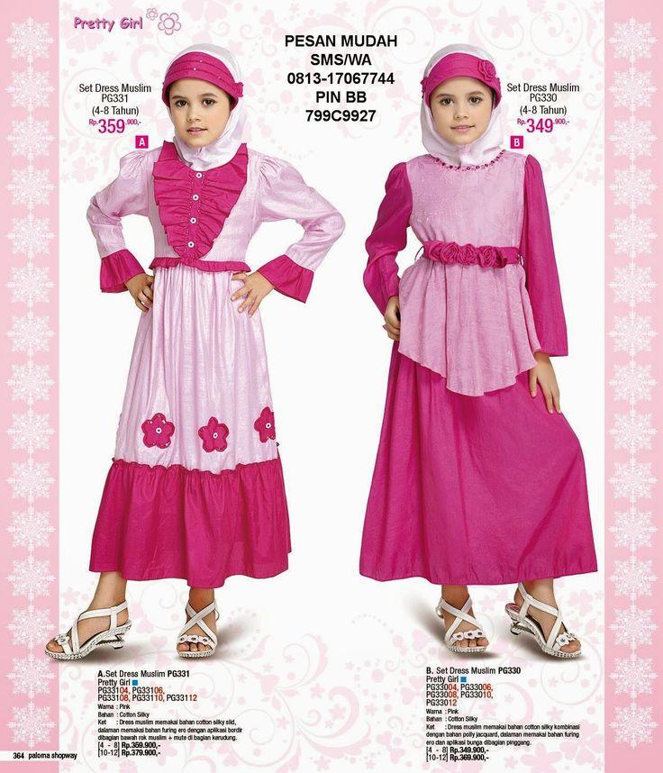 Butik Paloma Shopway Jakarta Barat - Hotline 0813-17067744: Gamis Anak Pretty Girl