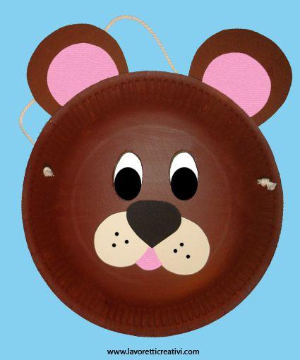 carnival mask bear