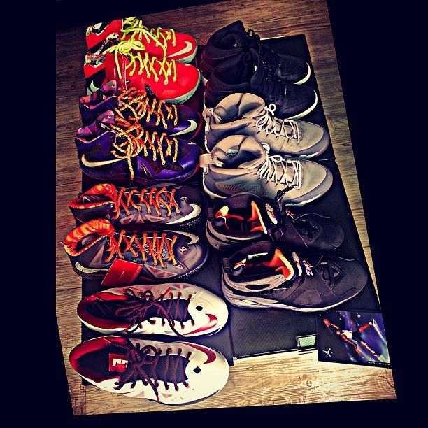 GRAY's nike collections.. hmmm.. money making.