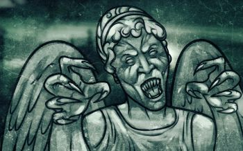 How to Draw a Weeping Angel From Doctor Who, Step by Step, Characters, Pop Culture, FREE Online Drawing Tutorial, Added by Dawn, October 19, 2013, 7:47:02 am