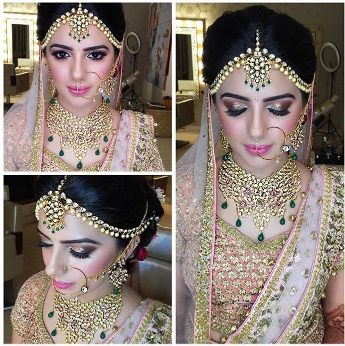 Simply gorgeous wordless makeup look created by @poojakhuranamakeovers Hair Artistry By Archana Rautela