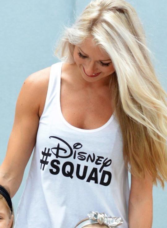 Disney Family Shirts - Squad Womens Sparkle Tank Top