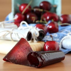 Cherry fruit leather! Just what I was looking for.