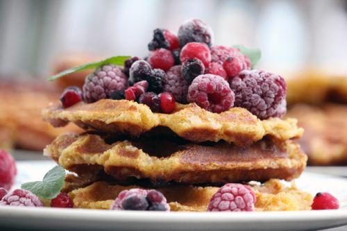 Gaufres liégeoises | Organic homemade waffles