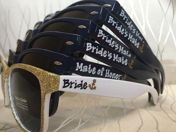 Bride's Mate sunglasses for your wedding by GreenBridalBoutique