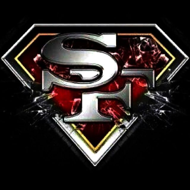 San Francisco 49ers. The image is of the San Francisco 49ers logo breaking through the outline of the superman logo. It looks like there could be glass shattering. To me this image means a lot because I am a die hard 49ers fan. This year is was disappointing to loose to Seattle in Seattle. We had a chance but we could not just finish. To the world the 49ers are what winning looks like. I asked my cousin from England if he watches football he said yes and he said he is a 49ers fan. I was a…