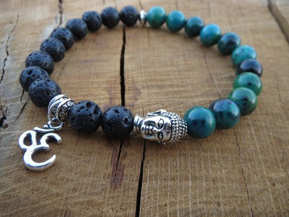 Check out this item in my Etsy shop https://www.etsy.com/listing/240340727/mens-beaded-buddha-yoga-bracelet-ohm