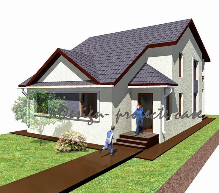 proiecte case, constructii, design: locuinta individuala, cod 07T