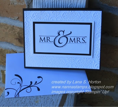 7 best Stampin Up Mr & Mrs images on Pinterest