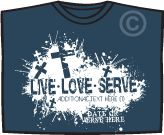 Christian T-Shirts for Youth Groups- Youth Group T-Shirts Personalized
