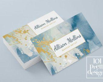 Tarjeta de visita floral diseño plantilla de tarjeta de