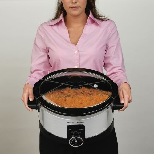 Simplicity™ 6 Quart Slow Cooker with Timer | Slow Cooker | Hamilton Beach