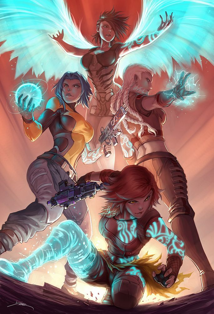 """""""Phase"""" - Sirens of Borderlands - by Quirkilicious on deviantART"""