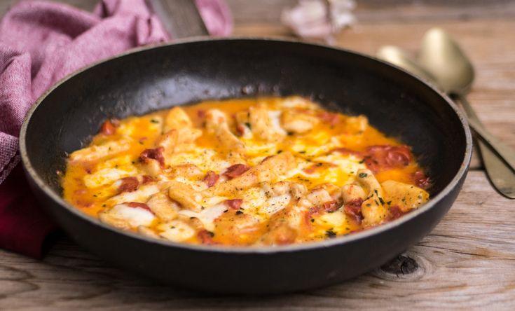 Bocconcini di pollo alla pizzaiola