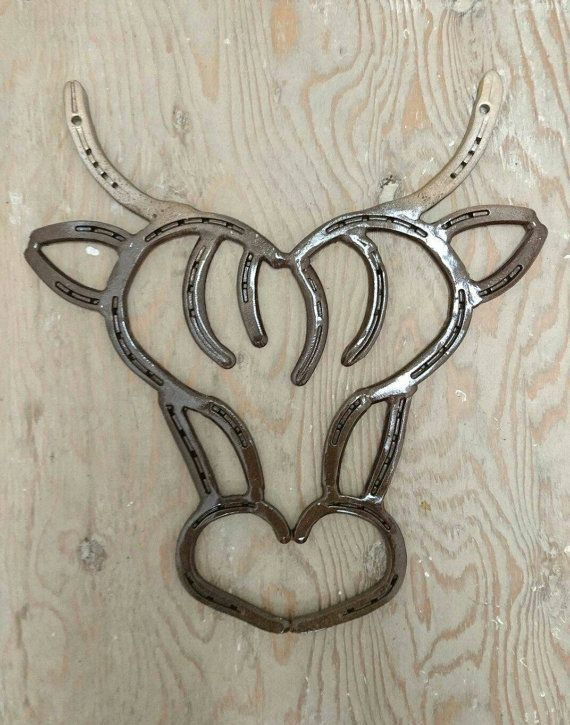 708 best horseshoe crafts images on pinterest horseshoe for Things you can make with horseshoes