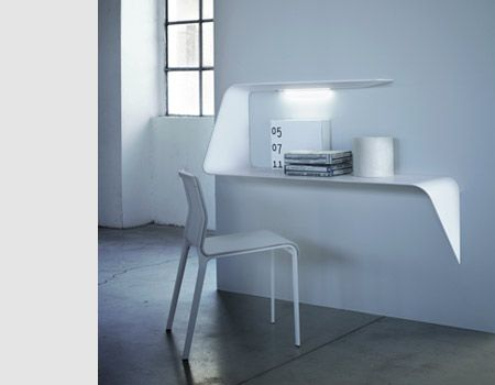 Mamba, the floating desk by MDF Italia. Available in India with Lines+ www.linesplus.in