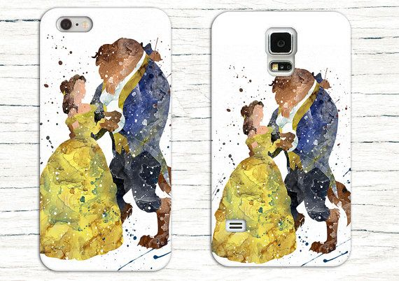 Disney's Beauty and the Beast Phone Case for by 0ThePrintShop0
