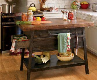La Mesa Kitchen Island   Traditional   Kitchen Islands And Kitchen Carts   Napa  Style