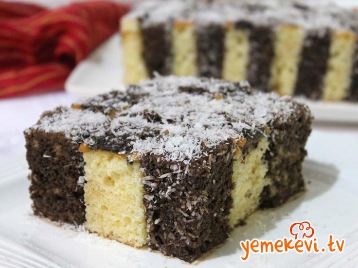 Kes Yapıştır Kek, Cake Recipes, Kek Tarifleri, www.yemekevi.tv, www.facebook.com/YemekeviTV, www.twitter.com/yemekevitv, www.youtube.com/user/fvayni