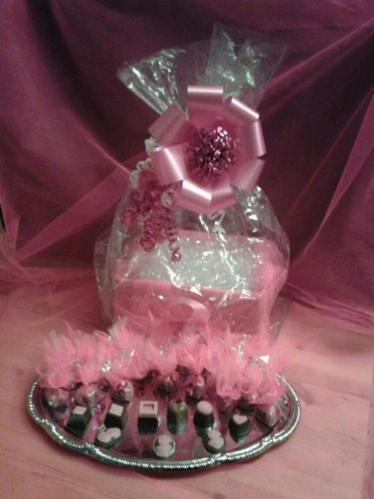 hand made chocolates for a breast cancer auction
