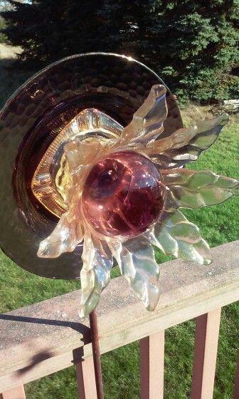 Glass Garden Art By Kimberu0027s Garden Gems On Facebook