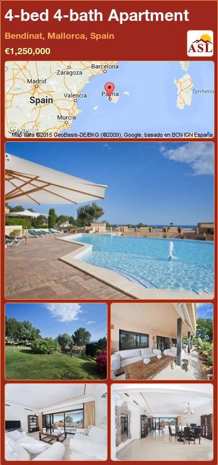 4-bed 4-bath Apartment in Bendinat, Mallorca, Spain ►€1,250,000 #PropertyForSaleInSpain
