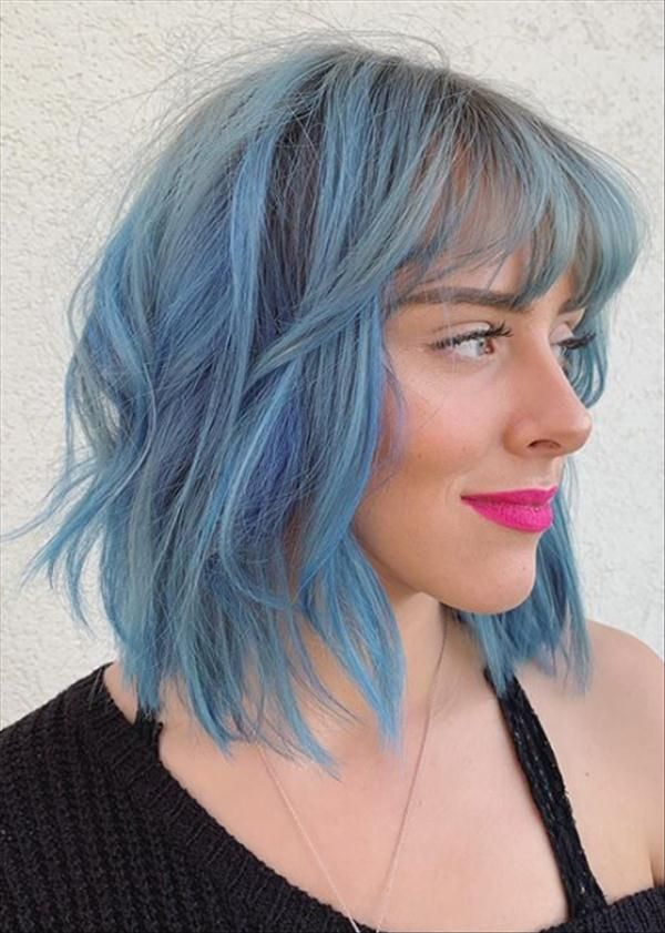 Want A New Hairstyle In 2020 How About Shaggy Bob Hair Latest Fashion Trends For Girls In 2020 Oblong Face Hairstyles Bob Hairstyles Curly Hair Styles Naturally